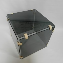 Cube coffee table made up...