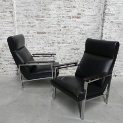 2 Rob Parry armchairs for...