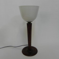 Art deco bureaulamp, uplight