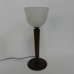 Art deco desk lamp, uplight