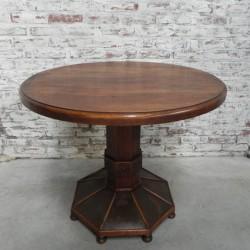 Oak Art Deco table