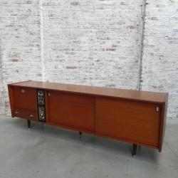 Vintage dressoir 230 cm lang