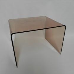 Kunststof plexiglas salontafel