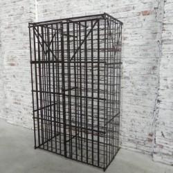 Steel wine rack for 300...
