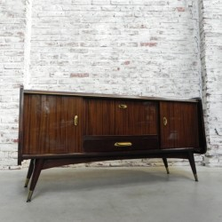 Vintage dressoir 130 cm breed