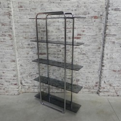 Etagere with 5 glass...