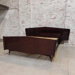 Vintage double bed 140x200 cm