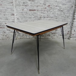 Vintage dining table with...