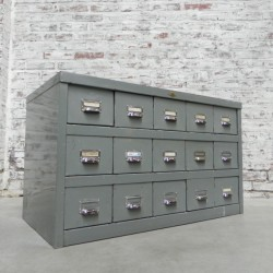 Steel Fata chest of drawers...