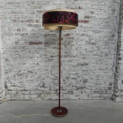 Staande lamp met ronde kap