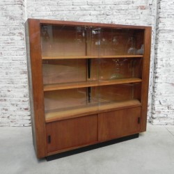 Oak display cabinet...