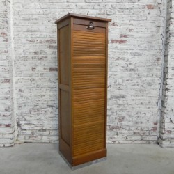Oak roller shutter box with...