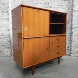 Vintage highboard, display...