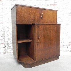 Art Deco cabinet, liquor...