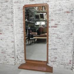 Standing Art Deco mirror in...