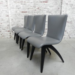 4 chairs by Os Culemborg