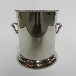 Silver plated champagne cooler