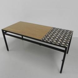 Vintage coffee table, tile...