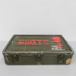 Aluminum army box, US army...