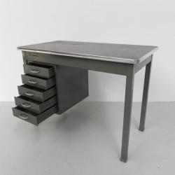 Industrial steel desk 70 cm...