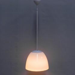 Art Deco hanglamp met witte...