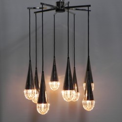 Hanging lamp with 8 light...