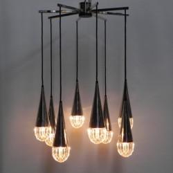Hanglamp met 8 lichtpunten...