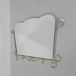 Vintage faceted mirror in...