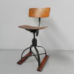 Bienaise industrial stool,...