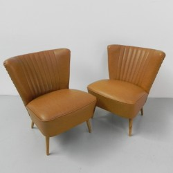 Set of 2 cocktail chairs