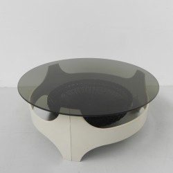 Space age coffee table with...