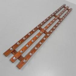 260 cm long coat rack with...