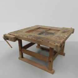 Large square workbench with...