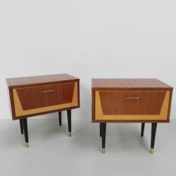 Set van 2 vintage...
